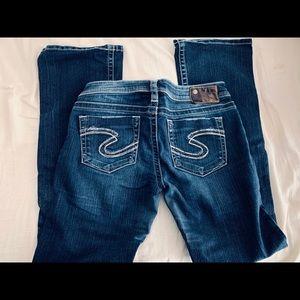 Silver - Denim Jeans
